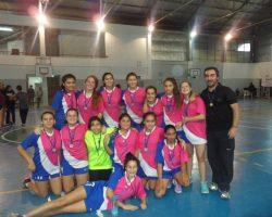 Las chicas menores de Handball del CEF 7 campeonas en Bariloche
