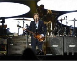 Paul McCartney hizo vibrar a más de 40 mil personas en La Plata