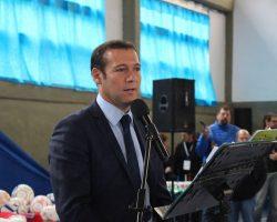 Gutiérrez anunció un aporte de 130 millones de pesos para la ejecución de la planta de tratamiento de Villa La Angostura