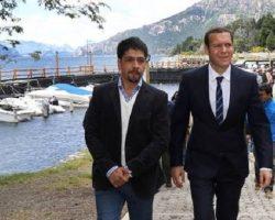 Gutiérrez presidió el acto por el 80º aniversario de Villa Traful