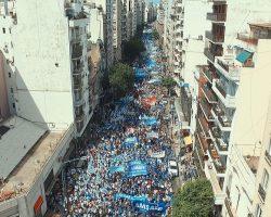 Movilizaciones, marchas y cortes: el cronograma para hoy.