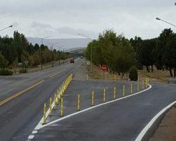 Lanzan obras para evitar accidentes en la Ruta 40 en San Martín.