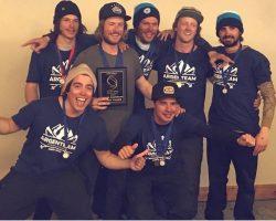 Argenteam campeón: con instructores de Angostura y San Martín se coronaron en Aspen