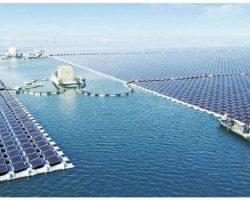 China inauguró la planta flotante de energía solar más grande del mundo