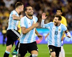 Argentina venció a Brasil en el inicio de la era Sampaoli