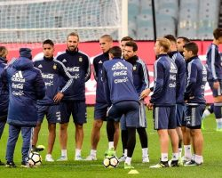 El equipo de Sampaoli para jugar con Brasil