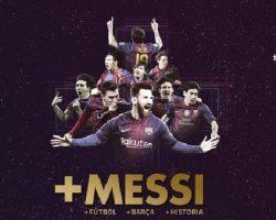 Messi renovó con Barcelona hasta el 2021.