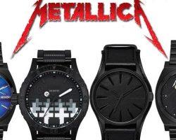 Metallica lanza su propia línea de relojes