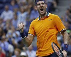 Del Potro venció a Borna Coric y avanzó a los cuartos de final del US Open