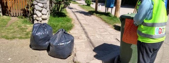 La Dirección de residuos trabaja en la limpieza de espacios públicos