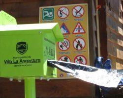 """Llegaron los """"Punto Can"""" a Villa La Angostura"""