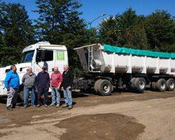 Villa La Angostura ya transfiere sus residuos al Centro Regional de Alicurá