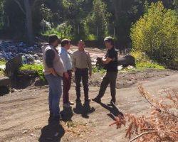 Stefani pidió recursos a Provincia para afrontar la acumulación de residuos en el Centro Ambiental y evitar posibles incendios