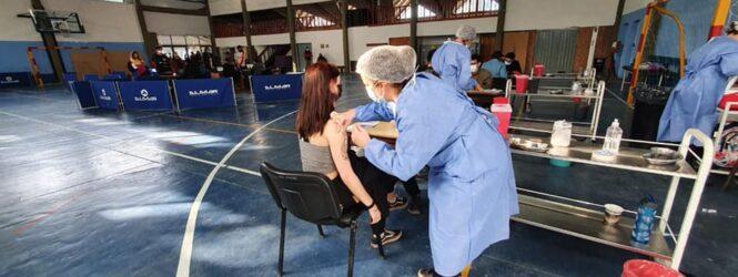 Villa La Angostura: nueva jornada de vacunación